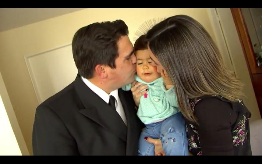 Capitán de la Armada luchó por ser padre